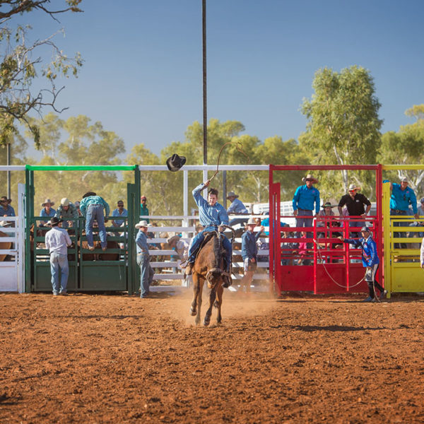 Dajarra Rodeo as part of the Cloncurry C150 celebrations