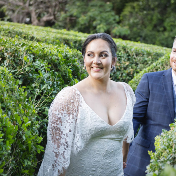 The wedding of Christina Santarossa and Tim O'Donnell at Queens Gardens