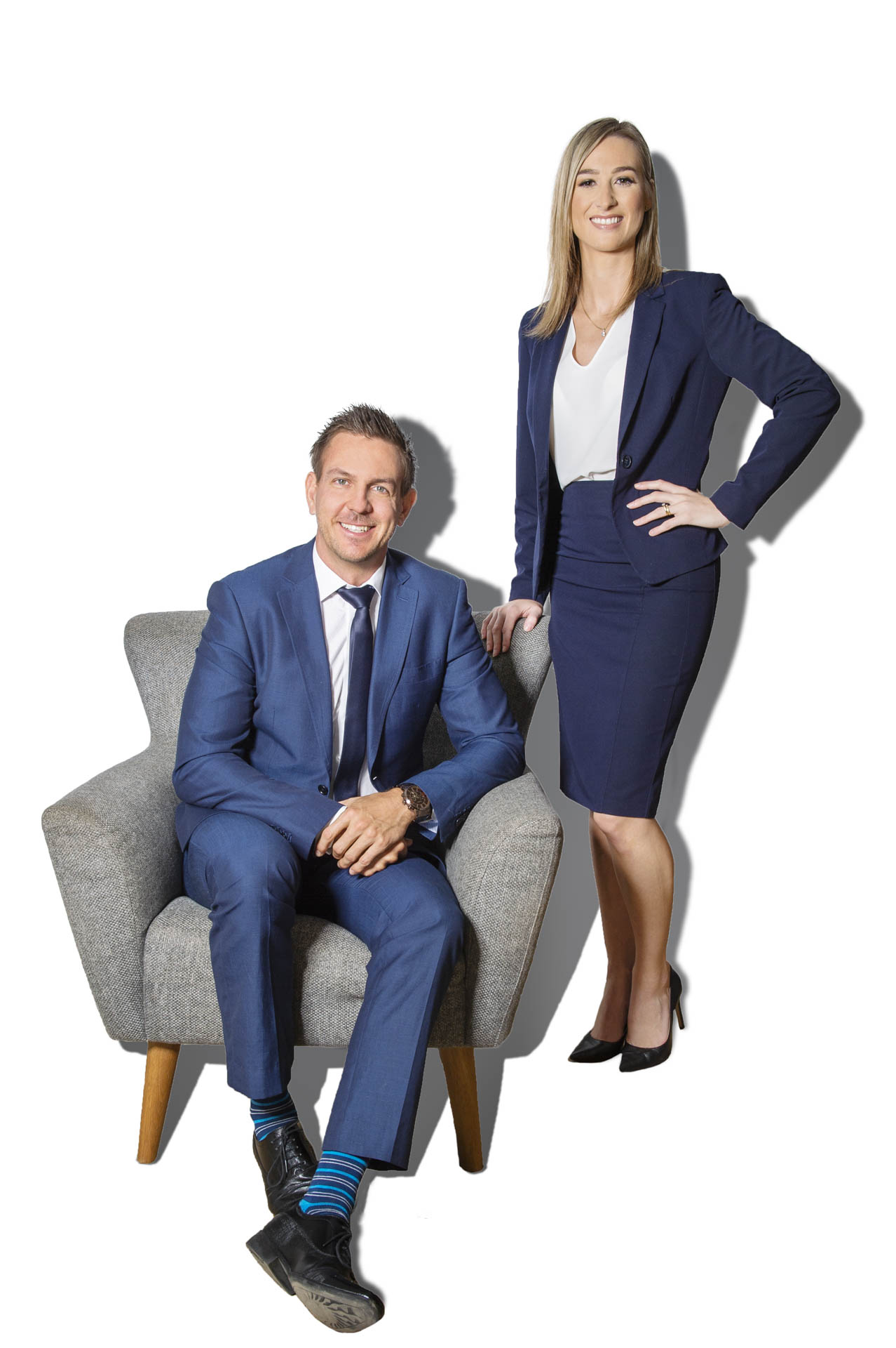Corporate portraits of the team from Loan Market's Townsville office