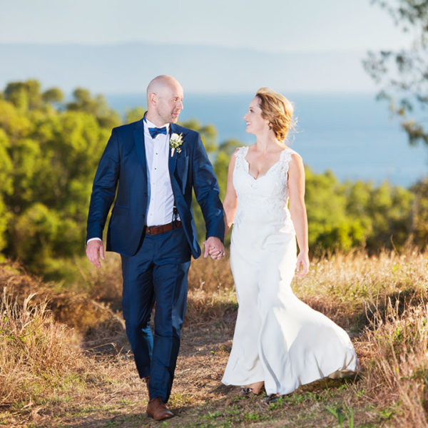 The Wedding of Megan Middleton and Matt Hamilton on Orpheus Island at the Orpheus Island Resort.