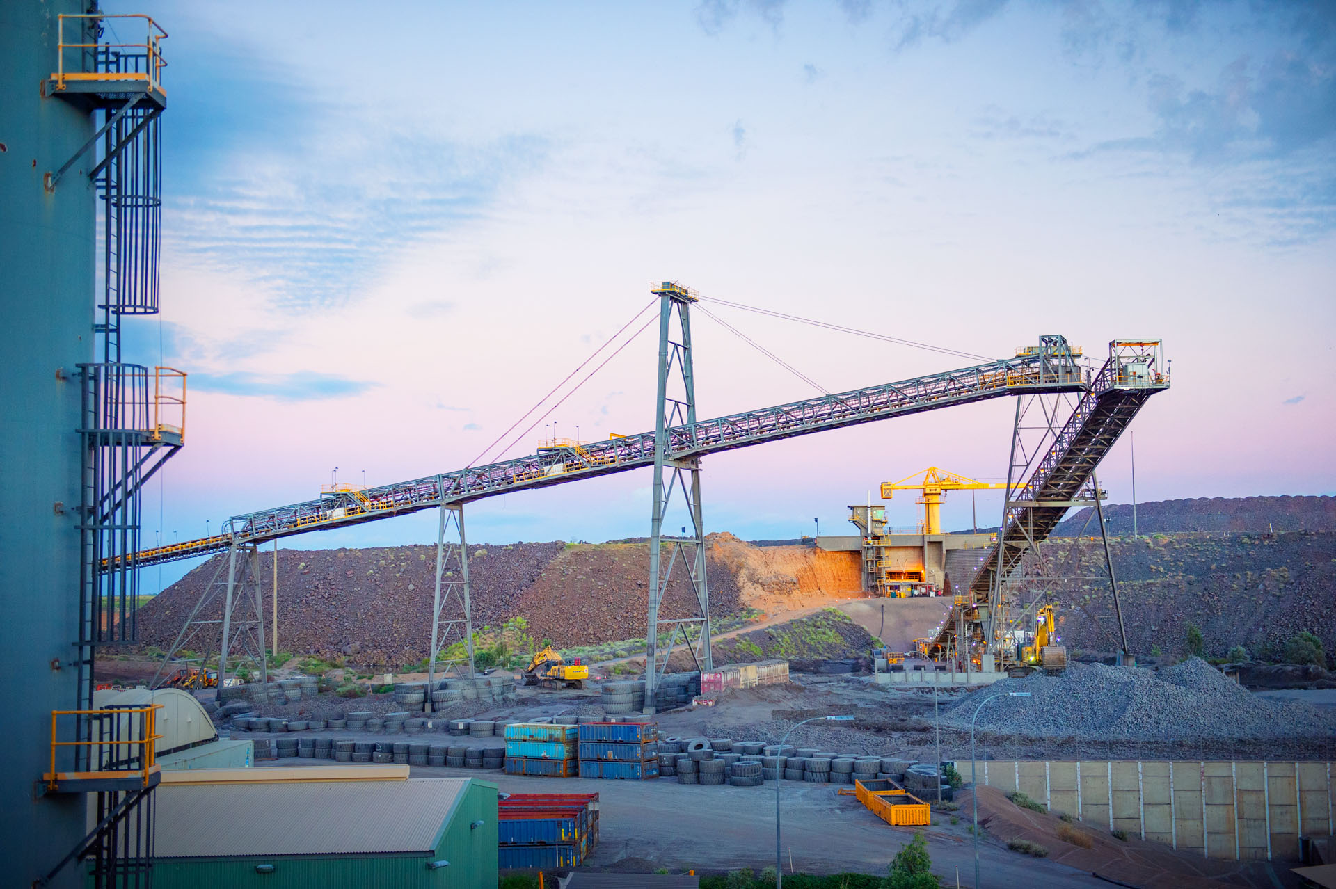 Photography of product, premises and personnel at Glencore's Ernest Henry Mine, Cloncurry