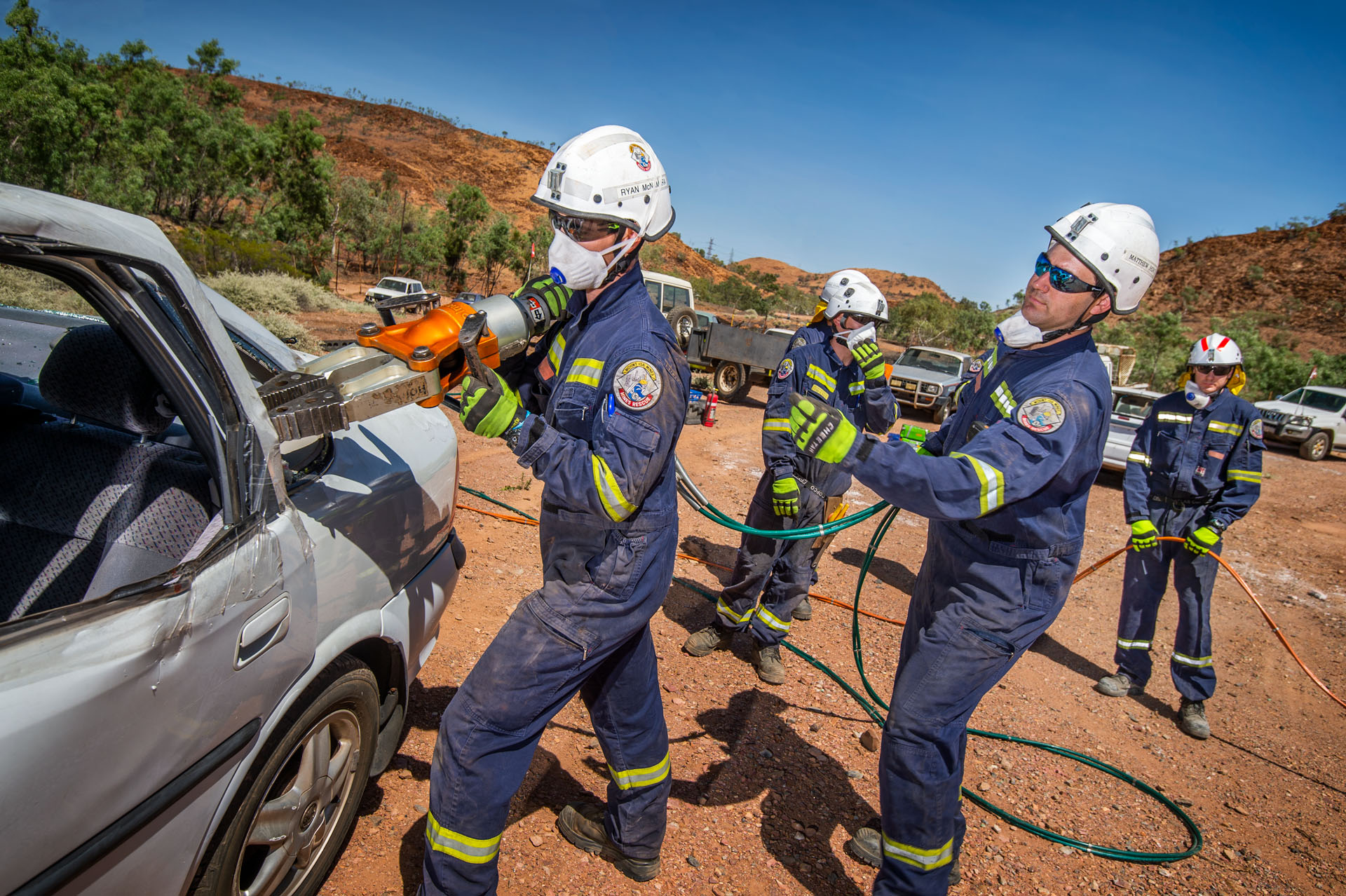 Photography of product, premises and personnel at Glencore's Mount Isa Mines, Mount Isa