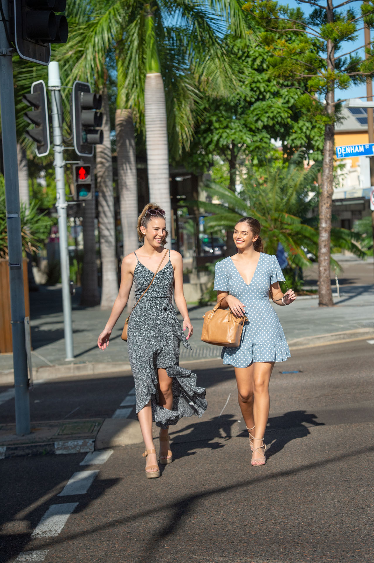Photographs in Townsville to illustrate the Queensland Government Department of Transport and Main Roads, Walking Strategy