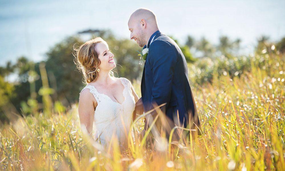 The Wedding of Megan Middleton and Matt Hamilton on Orpheus Island at the Orpheus Island Resort.